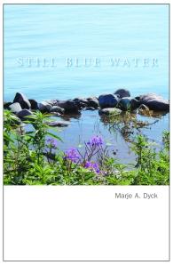 still blue water